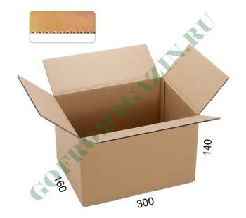 Коробка упаковочная 300х160х140 мм, Т-23 бурый