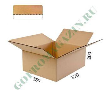 Упаковочная коробка 570х350х200 мм, Т-24 бурый