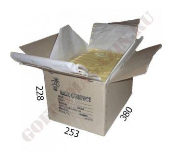 Маслокороб 380х253х228 мм с печатью для сливочного масла