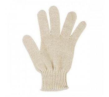Перчатки рабочие 10 класс, 3-х ниточные, цвет белый, без ПВХ