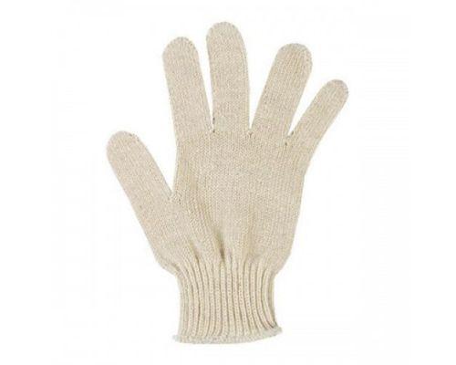 Перчатки 3-х ниточные, белые, без ПВХ